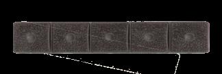 LM8 5-Section Grip Panel, Black