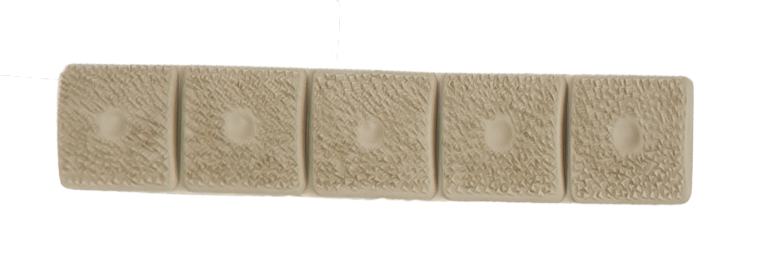 LM8 5-Section Grip Panel, Tan