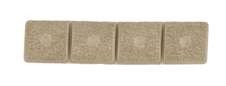 LM8 4-Section Grip panel, Tan