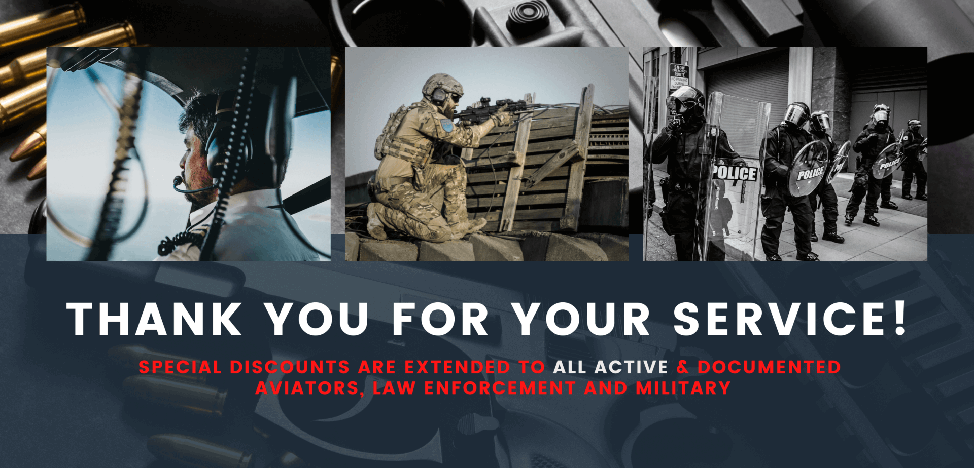 V1 Tactical | Discounts for Law Enforcement Military and Aviators